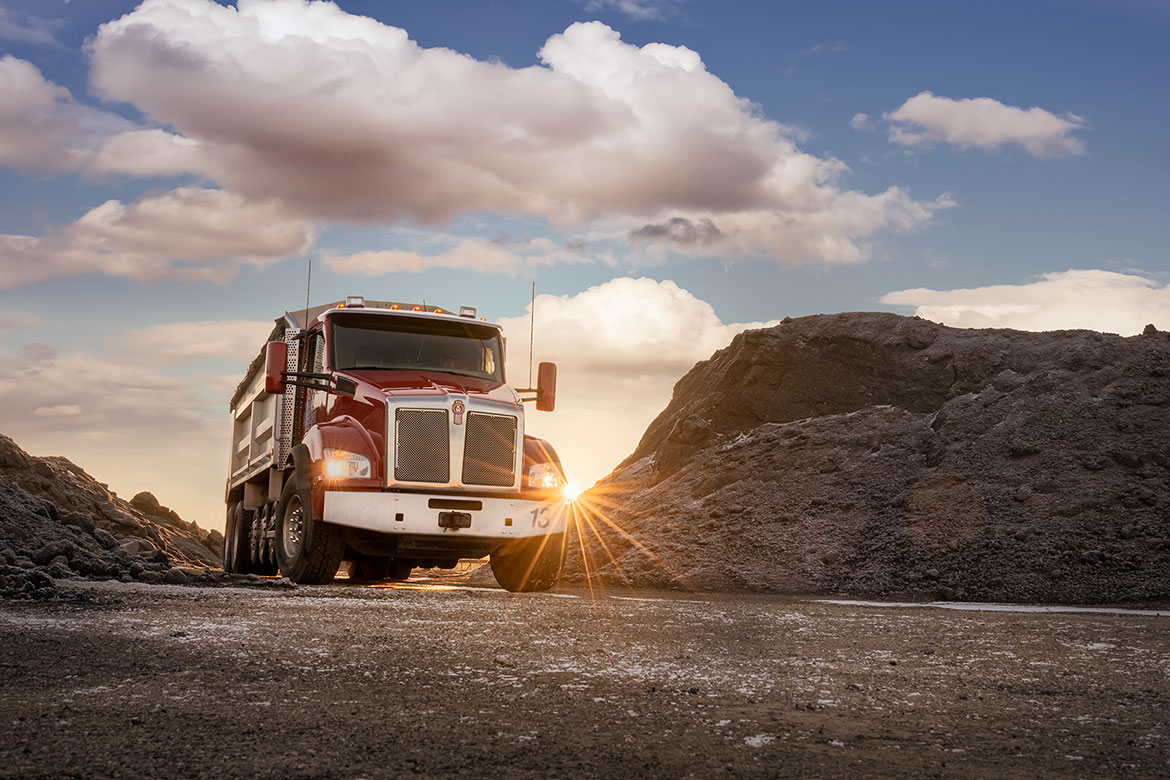 Truck photography
